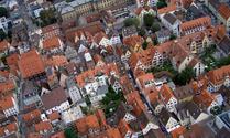 Looking down on Ulm