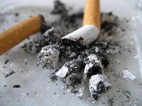 cigarrette ash