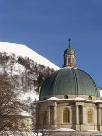 Sanctuary in mountain