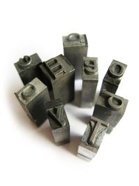 metal type from letterpress 4