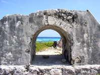 Ruins in Cozumel