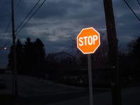Stop at dusk
