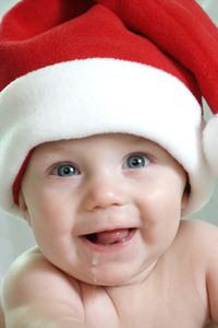 Drooling Santa