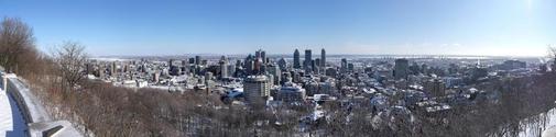 panoramaview on montreal