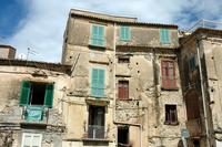 old buiding facade