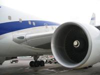 ElAl Plane Engine Israel Airli