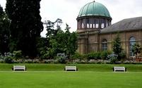 Park in Karlsruhe castle