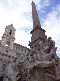 Plaza Navonna, Bernini