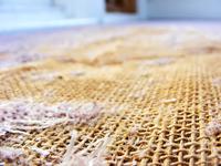 Floor of twine