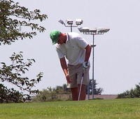 Golfer in doubt