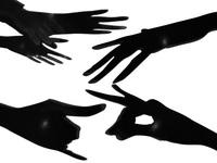 hands shadow