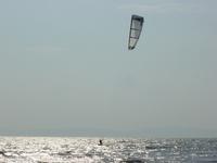 Kiteboarding at Lake Balaton
