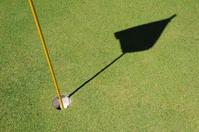 Golf Hole and Flag Pole 2