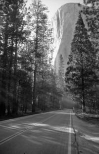 Road to El Capitain