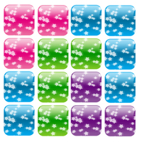 star buttons
