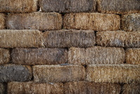 Hay stacked 1