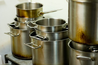 steel pots