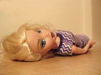 Not sleeping doll