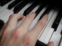 Piano & Hand