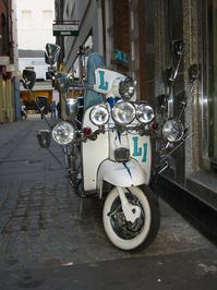 Covent Garden Lambretta