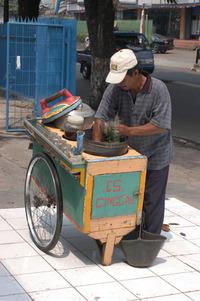 Cingcau-ice seller