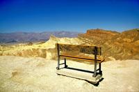 desert bench