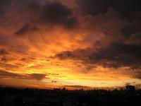 Sunrise at window 2