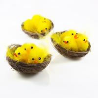 Easter chicken baskets