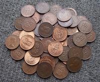 NZ Halfpenny Coins