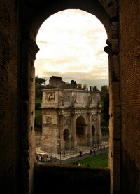 A view from The Colliseum