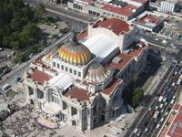 Aerial photo - Palacio de Bellas Artes, Mexico, City