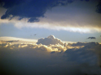 cloudy sunset 5
