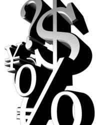 money symbols abstract 5