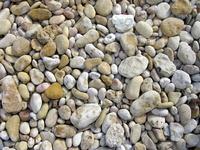 Pebbles in valley