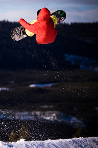Big jump trick