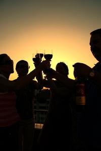 Wine at Sunset 3