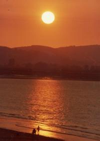 Blue Anchor Sunset