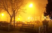 Bucharest Winter Night