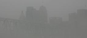 Fog on the Ohio River 5