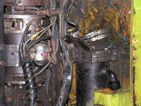 Fork lift engine
