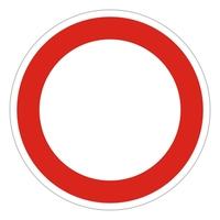 traffic sign 14