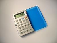 Blue calculator 4