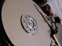 Hard drive opened 2
