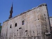 Augustus temple, haci bayram mosque