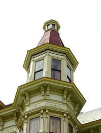Victorian mansion tower