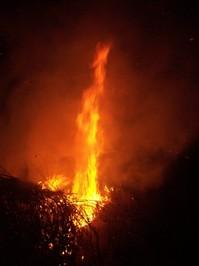 Statue of Liberty Bonfire