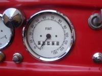 Fiat car dashboard