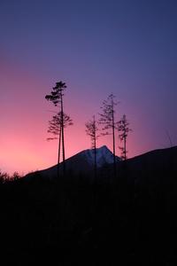 Mountain sunset 3