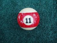 Old Pool Table Balls 10