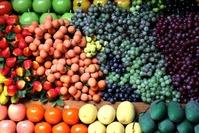 Market stall fruit